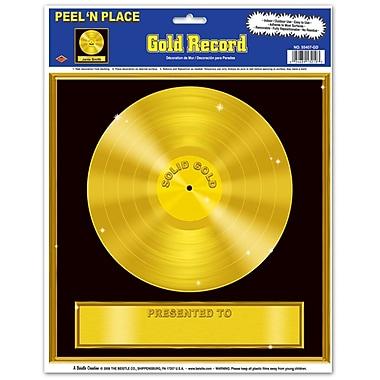 Disque Peel 'N place, 12 po x 15 po, doré, 5/paquet
