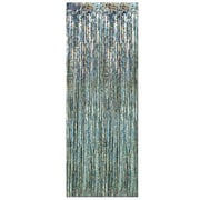 1-Ply Flame Resistant Gleam 'N Curtain, 8' x 3', Prismatic Silver