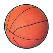 "Beistle 13 1/2"" Basketball Cutouts, 10/Pack"