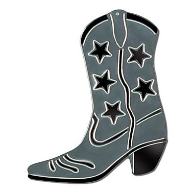 Foil Cowboy Boot Silhouette, 16