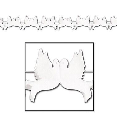 Guirlande colombes, 6 1/2 po x 12 pi, paquet de 3