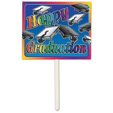 Happy Graduation Yard Sign, 12