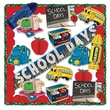 Beistle 20-Piece School Days Decorating Kit