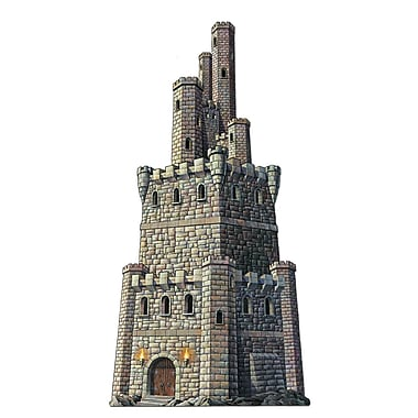 Beistle 4' Jointed Castle Tower, 2/Pack