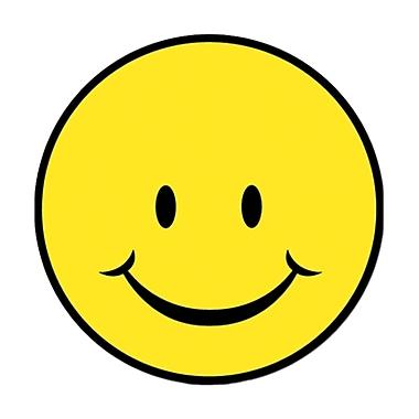 Smile Face Cutout, 13-1/2
