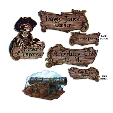 Pirate Cutouts, 16