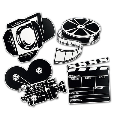 Movie Set Cutouts, 16