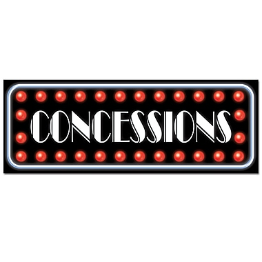 Concessions Sign, 8