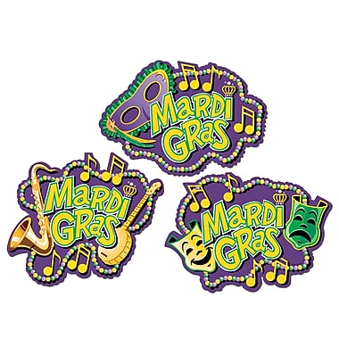 Mardi Gras Music Cutouts, 18