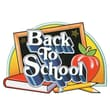 Beistle 18in. x 25in. Back-to School Sign, 5/Pack