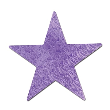 Embossed Foil Star Cutout, 5