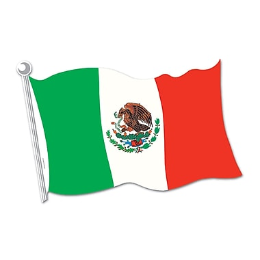 Mexican Flag Cutout , 18