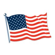 Beistle 18 x 12 American Flag Cutouts, 9/Pack
