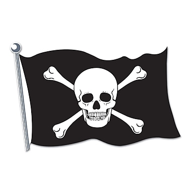 Pirate Flag Cutout, 18