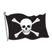 Beistle 18 Pirate Flag Cutouts, 9/Pack