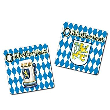 Sous-verres Oktoberfest, 3 1/2 po, paq./32