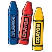 """Crayon Cutouts, 24"""", 12/Pack"""