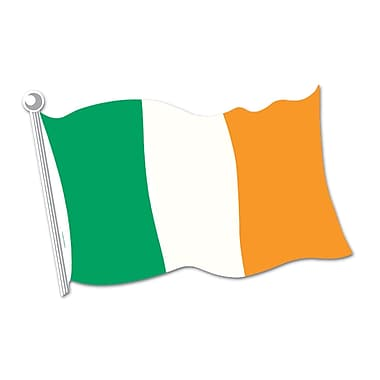 Irish Flag Cutout, 18