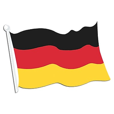 German Flag Cutout, 18