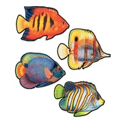 "Beistle 16"" Coral Reef Fish Cutouts, 12/Pack"