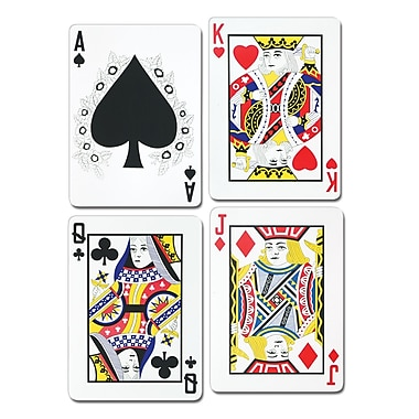 Playing Card Cutouts, 25
