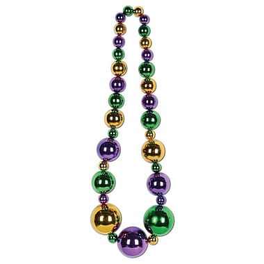Beistle Mardi Gras King Size Beads Necklace, 51