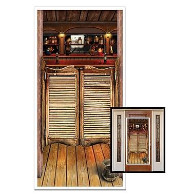 Affiche de porte saloon, 30 po x 5 pi, 3/paquet