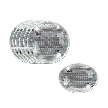 Beistle Disco Ball Coaster 3 1/2