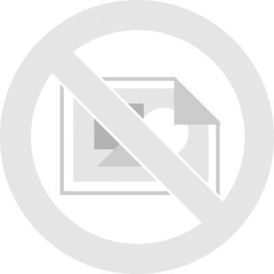 Banderole de tissu, 5 pi 10 po, noir/or