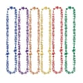 Beistle in.16thin. Birthday Beads Of Expression Necklace, 36in., Assorted
