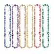 "Beistle ""16th"" Birthday Beads Of Expression Necklace, 36"", Assorted"