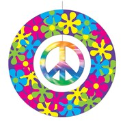 """Beistle 12"""" Peace Sign Mobile, 4/Pack"""
