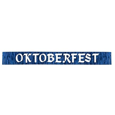 Metallic Oktoberfest Banner, 10
