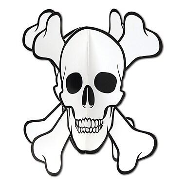 3-Dimensional Skull & Crossbones Centerpiece, 10