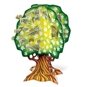 "Beistle 15"" 3D Wedding/Anniversary Money Tree, Green/White, 3/Pack"