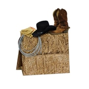 "3-Dimensional Western Centerpiece, 11"", 5/Pack"