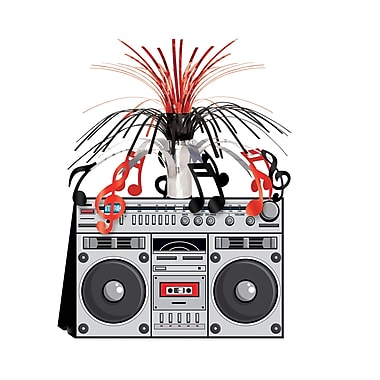 Beistle Boom Box Centerpiece, 14