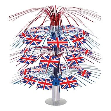 British Flag Cascade Centerpiece, 18