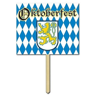 Panneau de jardin Oktoberfest, 12 x 15 po, paq./3
