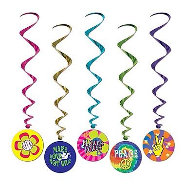 60's Whirls, 3' 2