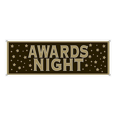 Awards Night Sign Banner, 5' x 21