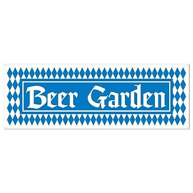 Beer Garden Sign Banner, 5' x 21