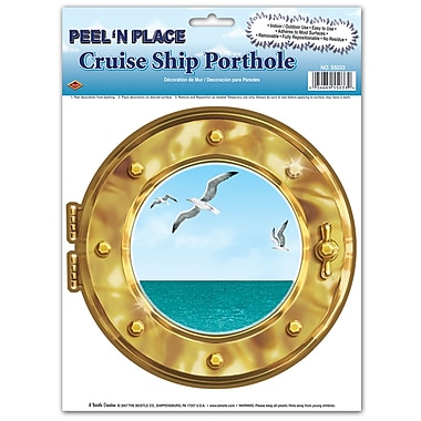 Cruise Ship Porthole Peel 'N Place, 12