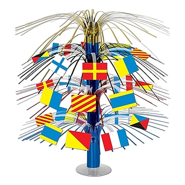 Nautical Flag Cascade Centerpiece, 18