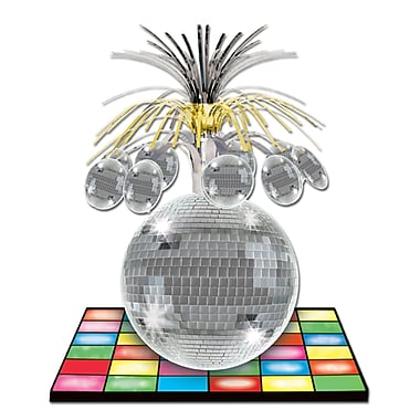 Beistle Disco Ball Centerpiece, 13