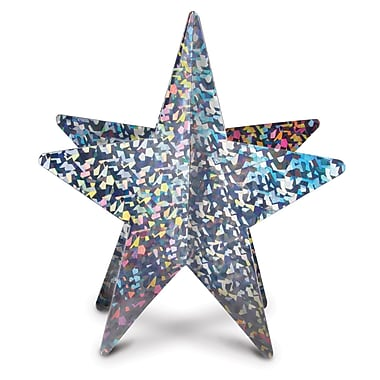 3-Dimensional Prismatic Star Centerpiece, 12
