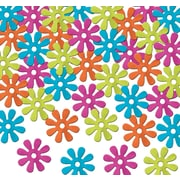 Beistle Fanci-Fetti Retro Flowers Confetti, Assorted, 5/Pack