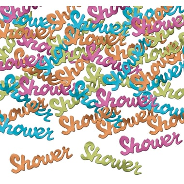 Confettis de fantaisie multicolores « Shower », 1/2 oz par paquet, 5 paquets