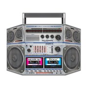 Beistle Boom Box Stand Up Cutouts, 3' 1 x 25, 2/Pack