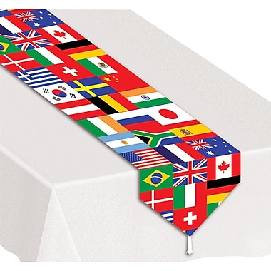 International Printed Flag Table Runner, 11